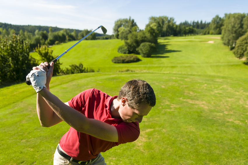 Golf-Shooting in Burgwalden