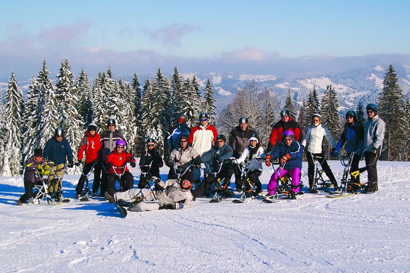 Snowbikes Gruppe 001-D
