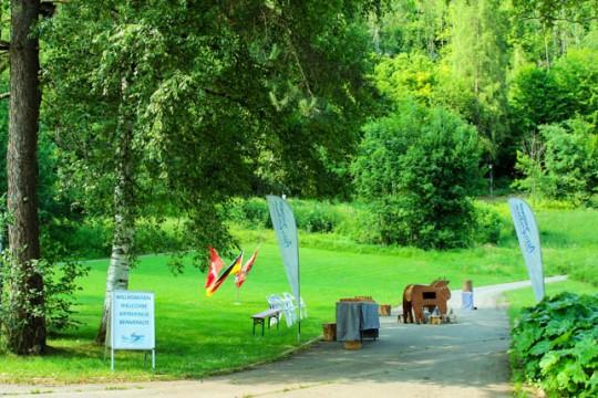 Eventstadel Aktivzentrum Jürgen Koch Firmenevents Sommer Natur Bayerische Olympiade Teambuilding Event