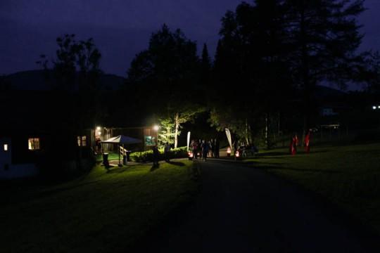 Eventstadel Aktivzentrum Oberstaufen Allgäu Sommerabend Hüttenabend Gaudi Betriebsfeier Firmenevent