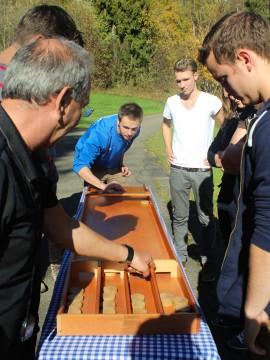 Holzscheibenschießen